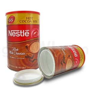 Safe Can X-LG Nestle Hot Cocoa 66 Servings