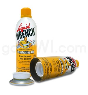 Safe Can Liquid Wrench Penetrating Oil