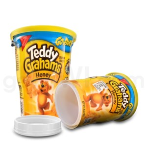 Safe Can Teddy Grahams Honey Go-Paks