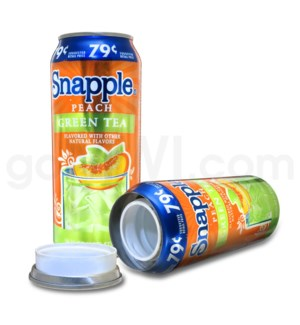 DISC Safe Can Snapple Peach Green Tea