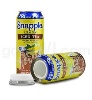 Safe Can Snapple Lemon Iced Tea