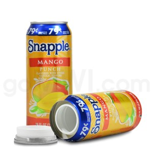 DISC Safe Can Snapple Mango Punch