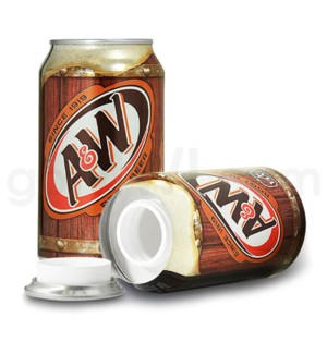 Safe Can A & W root beer Soda Can