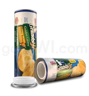 Safe Can Pillsbury Grands! Jr Honey Butter Biscuits