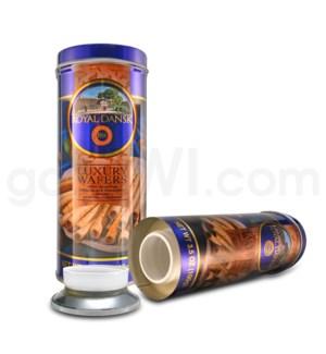 DISC Safe Can Royal Dansk Chocolate Hazelnut Wafers