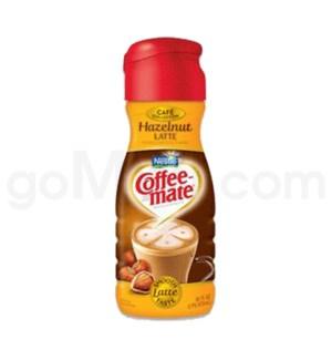 Safe Can Coffee Mate Hazelnut Latte Liquid Creamer