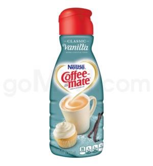 Safe Can Coffee Mate Vanilla Liquid Creamer