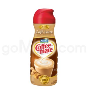 Safe Can Coffee Mate Café Latte Liquid Creamer