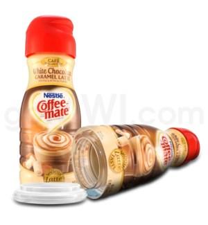 Safe Can Coffee Mate White Choc Caramel Latte Liq Creamer