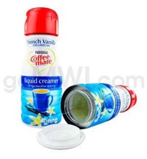 Safe Can Coffee Mate French Vanilla Liquid Creamer