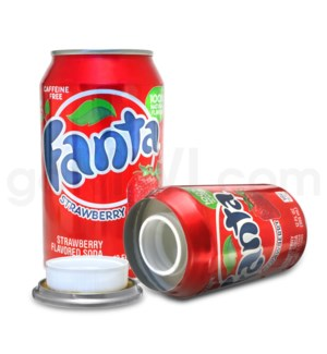 Safe Can Fanta Strawberry