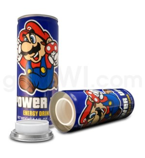 Safe Can Energy Drink - Mario Power Up