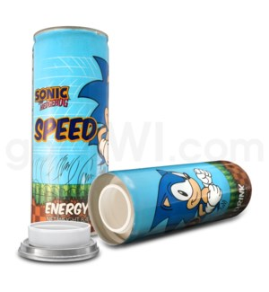 Safe Can Energy Drink - Sonic the Hedgehog Speed