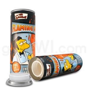 Safe Can Energy Drink - Simpsons Flaming Moe
