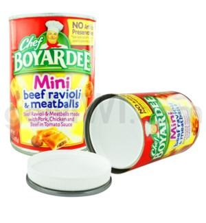 Safe Can Chef Boyardee - Mini Beef Ravioli & Meatballs