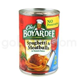 Safe Can Chef Boyardee - Spaghetti & Meatballs