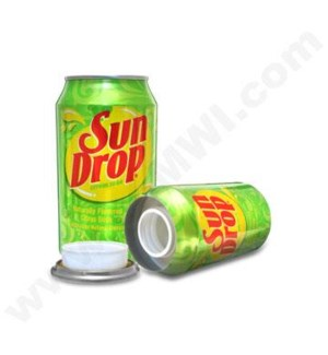 Sun Drop Safe Can