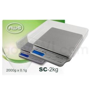 AWS SC-2KG 2000g x 0.1g Scales