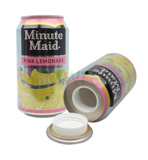 Safe Can Minute Maid Pink Lemonade