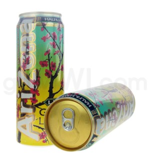 Safe Can Arizona Green Tea Lemonade Large Can