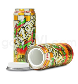 Safe Can Arizona Half Iced Tea / Half Mango 23oz Can