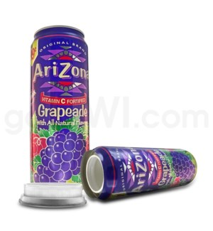 Safe Can Arizona Grapeade 23oz Can