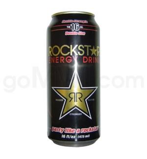 Rockstar Energy Drink Double Strength 16oz  Can