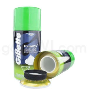Safe Can Gillette Shave Foam - Lemon Lime