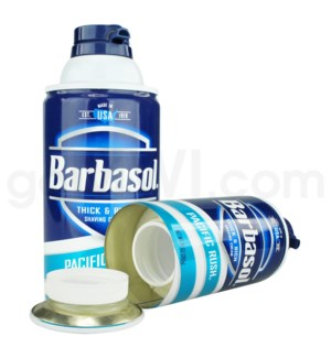 DISC Safe Can Barbasol shaving cream  Pacific Rush