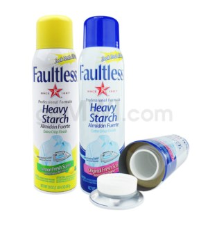 Safe Can Faultless Heavy Starch - Assort