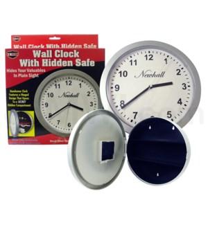 Safe Can Wall Clock Safe