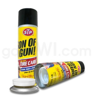 Safe Can STP Son of a gun Tire Care