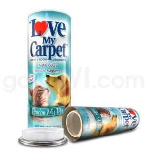 Safe Can Love My Carpet - Pardon My Pet