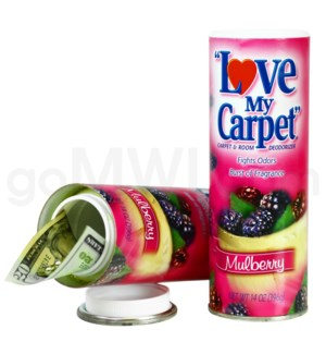 Safe Can Love My Carpet - Mulberry