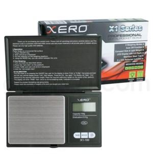 Fuzion Xero X1-100 100g x 0.01g Scales - Black