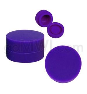 "1.25"" 6ml Silicone Container Solid Purple"