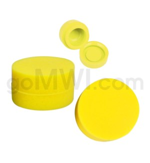 """1.25"""" 6ml Silicone Container Solid Yellow"""
