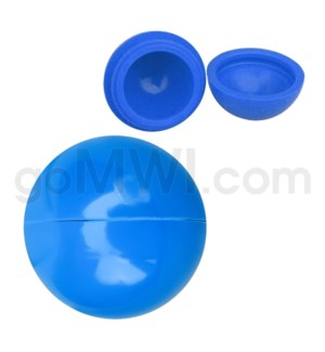 """1.5"""" Silicone Sphere Containers Solid Blue"""