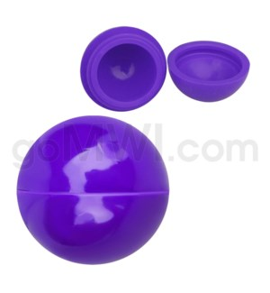 """1.5"""" Silicone Sphere Containers Solid Purple"""