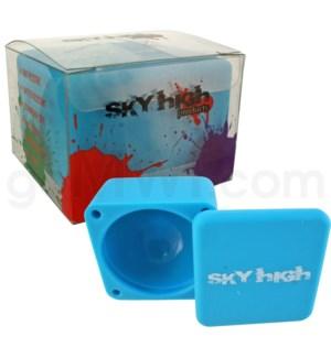 "Sky High Square 2.25"" Large Single-Blue"