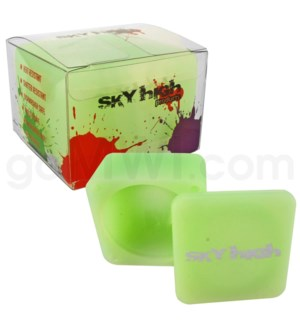"""DISC Sky High Square 2.25"""" Large Single-Glow in the Dark"""