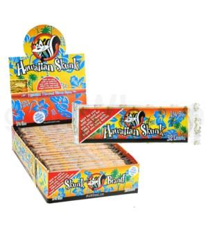 """Skunk Hawaiian Rolling Papers 1 1/4""""  32/pk 25ct/bx"""