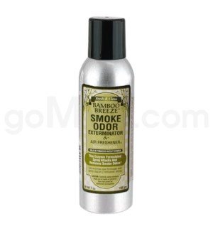 Smoke Odor Exterminator Bamboo Breeze Aerosol Spray 7oz