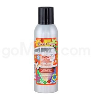 Smoke Odor Exterminator Flower Power  Aerosol Spray 7oz@