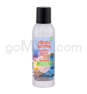 Smoke Odor Exterminator Miami Sunrise Aerosol Spray 7oz