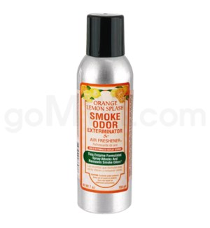 Smoke Odor Exterminator Orange Lem Splash Aerosol Spray 7oz