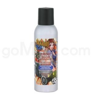 DISC Smoke Odor Exterminator Rockability Aerosol Spray 7oz