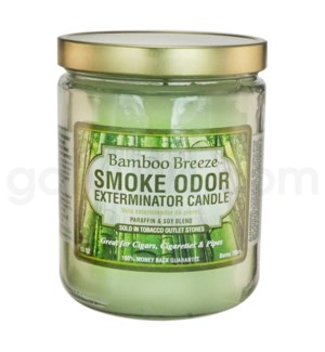 Smoke Odor Exterminator 13oz Candle Bamboo Breeze