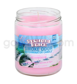 Smoke Odor Exterminator 13oz Candle Bermuda Beach