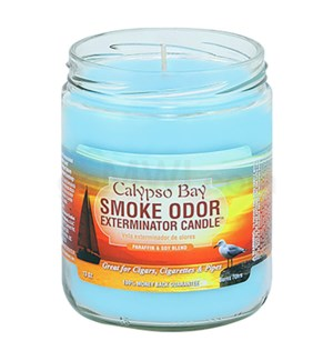 Smoke Odor Exterminator 13oz Candle Calypso Bay